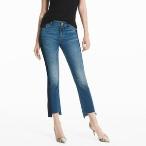 "NWT straight crop tuxedo jean ""FINAL PRICE"""